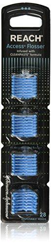 Reach Access Flosser Refills Mint, 28 Count - (6 Pack) by Reach
