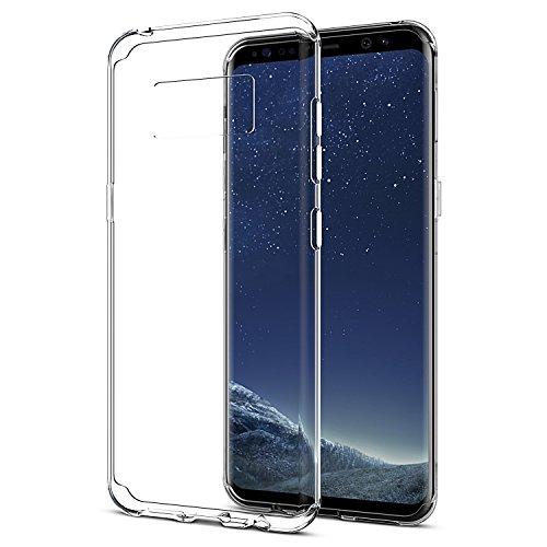 Funda Samsung Galaxy S8 Plus, Carcasa Samsung Galaxy S8 SPARIN Plus TPU Transparente [Flexibilidad] Funda de Silicona, Espalda Protección Carcasa [Anti-Arañazos] [Anti-Golpe] [Ajuste Perfecto] para Samsung Galaxy S8 Plus
