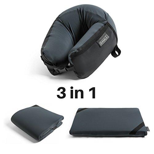 Omni Kissen | 3-in-1-Reisekissen, Komfortabler Memory-Foam, Kompakt und Tragbar
