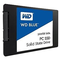 WD Blue 500GB Internal Solid State Drive (WDS500G1B0A)
