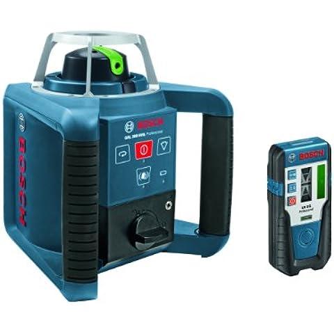 Bosch GRL 300 HVG - Nivelador láser (20h, Níquel-Hidruro metálico (NiMH), 1,2V, 18 cm, 19 cm, 17 cm) Negro,