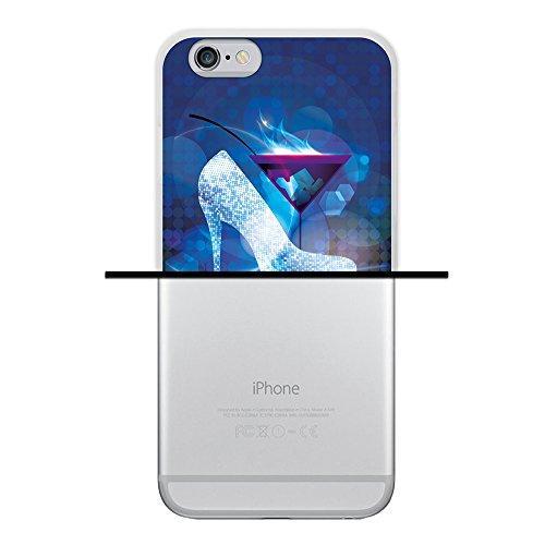 WoowCase Hülle Case für { iPhone 6 6S } Handy Cover Schutzhülle Astronaut Gay Flagge Housse Gel iPhone 6 6S Transparent D0337