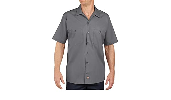 Dickies 2X-Large Tall Graphite Gray Industriel manches courtes manches de travail LS535