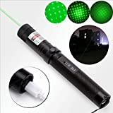 ASIER 1MW 532nm 303 USB Rechargeable Green Red Laser Pointer Pen Visible Beam