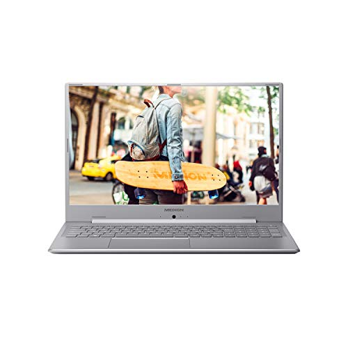 MEDION E17201 43,9 cm (17,3 Zoll) Full HD Notebook (Intel Pentium Silver N5000, 8GB DDR4 RAM, 1TB HDD, Akku Schnellladefunktion, Windows 10 Home)
