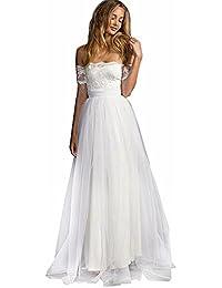 7c5d1455782d Amazon.it  abito da sposa - A bustier   Vestiti   Donna  Abbigliamento