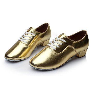 Kinder Tanzschuhe Kunstleder Modern Heels Low Heel Indoor Gold