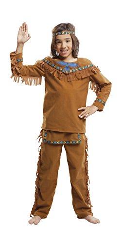 Imagen de my other me  disfraz de indio velvet para niño, 7 9 años viving costumes 203396