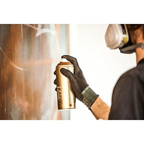 Montana Gold Acrylic Professional Spray Paint - 400 ML Can - Shock Yellow Light (S 1000)