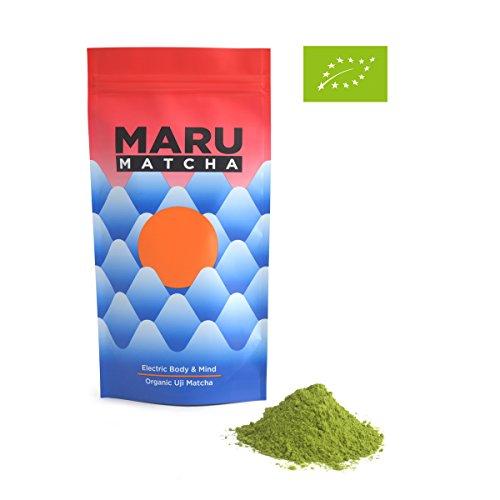 Giapponese organico Uji Matcha - 100g Matcha in busta richiudibile. Perfetto per tè verde Lattes, frullati, cottura