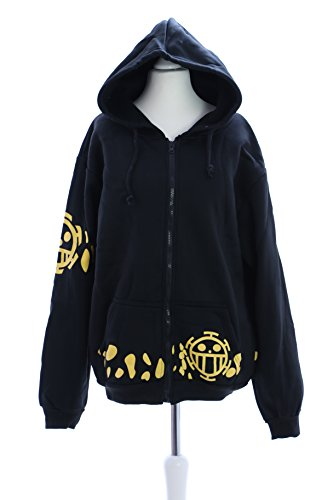 One Piece Law negro Cosplay chaqueta