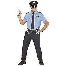 WIDMANN 1643 ? Policeman, Light Blue/Blue, Size XL