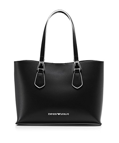 EMPORIO ARMANI SMOOTH SHOPPING BAG Y3D084YH19E-80001 NERO
