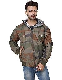 Derbenny High Quality Premium Nylon Camouflage Reversible Jacket For Men