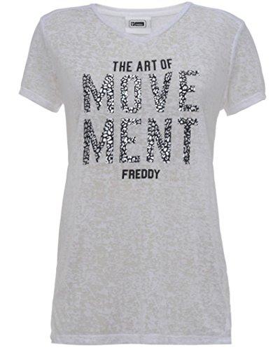 FREDDY - T-shirt de sport - Femme Bianco
