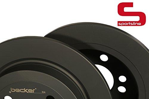 Bremsscheibe Sportsline (Hinterachse) u.a. für Mini | f.becker_line von kfzteile24 | Bremsscheibe, Bremsanlage