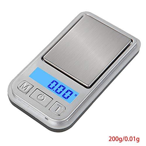 Provide The Best 100g / 0.01g 200g / 0.01g Mini Digital Pocket Bilancia da Cucina Gioielleria Farmacia Oro Tare Bilancia