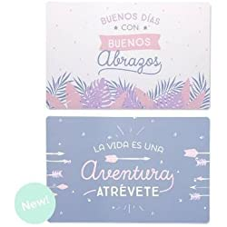Set 4 Salvamanteles Individuales Frases Originales