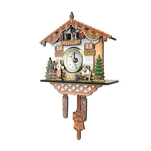5b1ef5c78ee5 perfeclan Reloj de Pared Antiguo de Cuco Decoración Casera Regalos Excelen