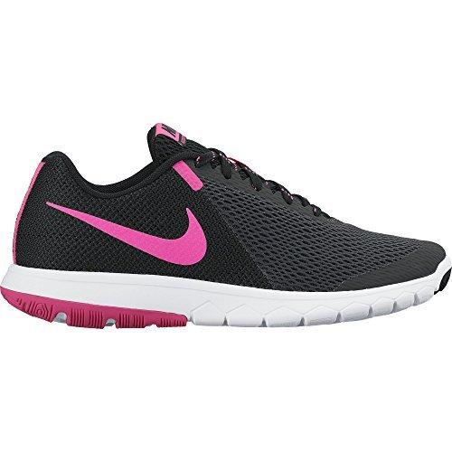 Nike Flex Experience Rn 5, Scarpe Running Donna, Nero (Anthracite/Pink Blast-Black-White), EU
