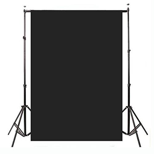 Doradus 2.1x1.5m 5x7ft einfache schwarze dünne Vinyl Studio Hintergrund Fotografie Prop Foto Hintergrund (Studio Schwarzem Hintergrund)