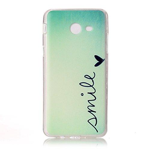 Coque Samsung J5 2017 , Etui Coque Galaxy J5 2017 TPU Slim Housse Cover avec Girafe Motif mode Bumper pour Samsung Galaxy J5 2017 (5.2 pouces) Souple Housse de Protection Flexible Soft Case Cas Couver Anglais