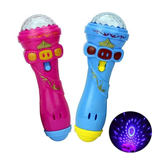 Hihey Mikrofon für Kinder Kinder mikrofon mit Long-Recording Voice Change Musik Karaoke Spielzeug und Tragbares Karaoke Zuhause KTV mit Gesang für Jungen und Mädchen