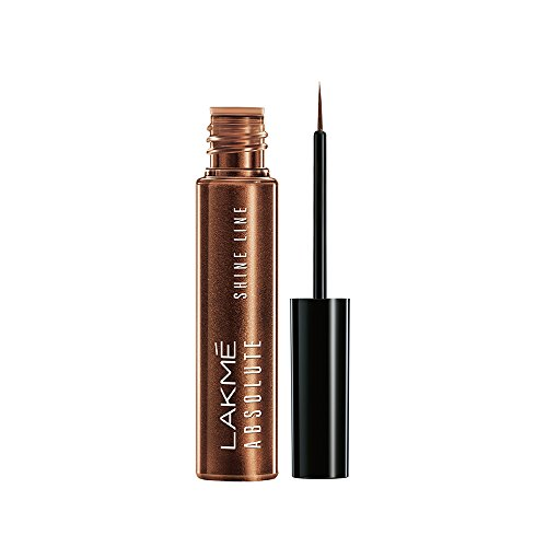 Lakme Absolute Shine Line Eye Liner, Shimmer Bronze, 4.5 ml