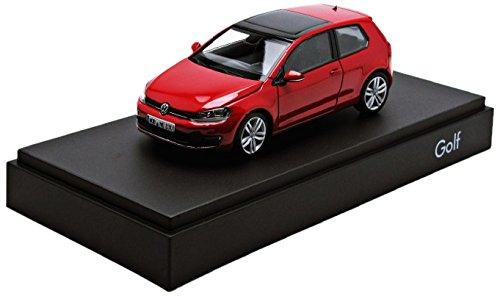 Volkswagen golf 7 3 portes rouge 1/43