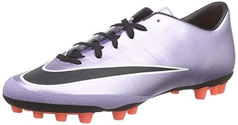 Nike Mercurial Victory V AG-R, Herren Fußballschuhe, Silber (Urbn Lilac/Blk-Brght Mng-White 580), 46 EU