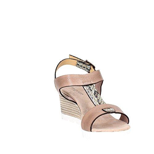 Pregunta PQ547788R 002 Sandale Femme Marron Taupe