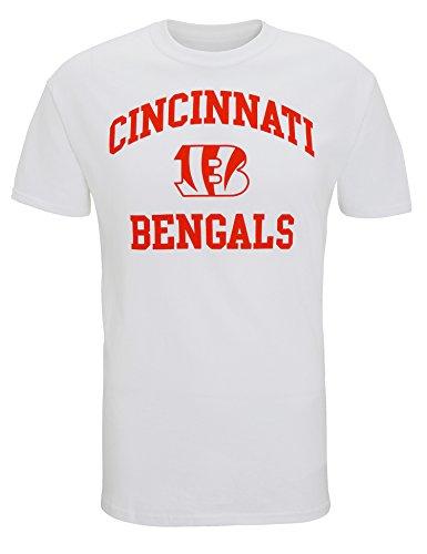 NFL Cincinnati Bengals Logo-T-Shirt - White - S