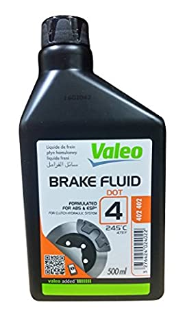 Liquide de freins 500 ML DOT4 Valéo (Speedster Motor Cars)
