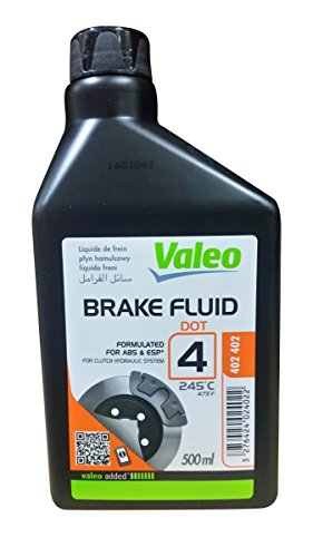 BRAKE FLUID DOT 4 0,5 L PLASTIC