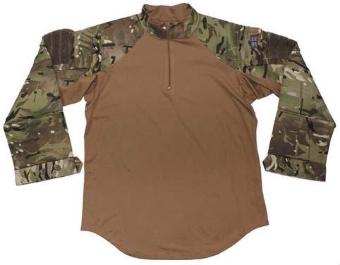 Brit. Combat Shirt, MTP tarn, Hot Weather, gebr.