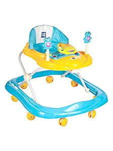 Mee Mee Simple Steps Baby Walker, Light Blue
