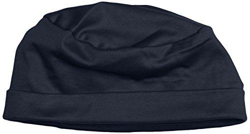 Trigema Jungen Mütze Soft-Cap, Gr. One Size (Herstellergröße: 0), Blau (Navy 046)