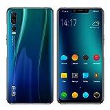 ELEPHONE A5 Telephone Portable debloqué - 6.18''FHD + Super-écran Complet Smartphone Ultra-Mince Android 8.1, Helio P60 6 Go + 128 Go, 5 caméras AI (caméra Frontale 20MP + 2MP) - Bleu crépuscule