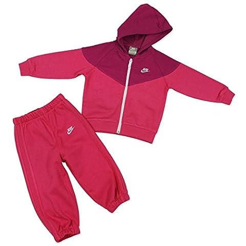 Nike Unisex 482004 Enfant Survêtement, Rose, Taille 6-9 Mois