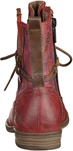 Mustang 1157-535, Bottes Classiques Femme Rouge