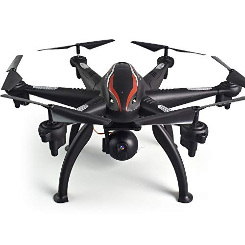 SJAPEX Pliant Drone avec 6-Axis Caméra 1080P WiFi FPV,RC Hexacopter Quadcopter Télécommande avec Photo Aérienne Maintenez l'altitude Cadeau pour l'enfant Facile à diriger