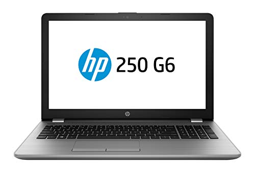 HP 250 G6 Notebook, Intel Core i7-7500U, 8 GB di RAM, SSD da 256 GB, Display 15.6' Antiriflesso FHD 1920 x 1080, Argento