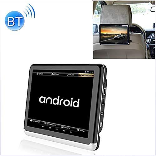 Prom-note Auto-DVD, Universal Full HD 10.1 Zoll Android 6.0 Auto-Sitz Zurück Radio Receiver MP5, Unterstützung Spiegel-Link/WiFi/FM, Ohne DVD Wiedergabe Und Eine Batterie