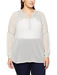 Yours Clothing Damen Bluse Bell Sleeves
