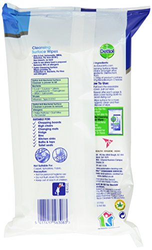 Product Image of Dettol Cleaning Surface Wipes, 252 Wipes