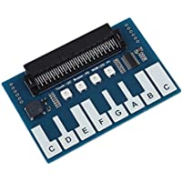 Zerone Mini módulo de Piano para Micro: bit, tecla táctil para Reproducir música Accesorio Mircrobit de la BBC con 4 LED