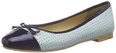 Marc Shoes Bea, Damen Geschlossene Ballerinas, Grau (Taupe-Combi 261), 38 EU