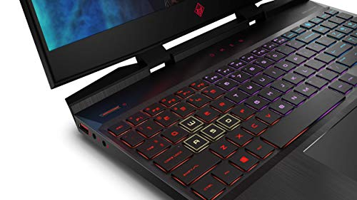 HP Omen 15-dc0084tx 15.6-inch Full HD Gaming Laptop (eighth Gen Intel Core i7-8750H/16GB/128GB SSD + 1TB HDD/Win10/GTX 1050Ti 4GB Graphics/144 Hz Refresh Fee), Shadow Black Image 7