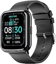 """Smartwatch Orologio Fitness Tracker Uomo Donna, Tanzato 1.69"""" Full Touch Bluetooth Smart Watch con Cardio"""