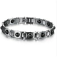 Ewigkeit Magnetfeldtherapie-Armband, Titanarmband für Männer-Balancen-Magneten Schmerzlinderung für Arthritis... preisvergleich bei billige-tabletten.eu